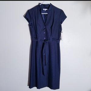 NWT Sandra Darren Belted Dress